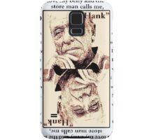 Charles Bukowski. The Ace Of Clubs Samsung Galaxy Case/Skin