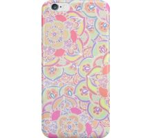Candyfloss Colored Doodle Pattern iPhone Case/Skin