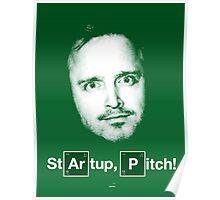 Argon, Phosphorus & Startup, pitch! Poster