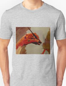 Hand Painted Painted Hand Painting Traditional Painting  T-Shirt