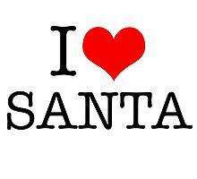 I Heart Santa by Robert Steadman