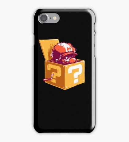 Jack in the Coin Box iPhone Case/Skin