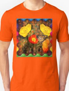 Yellow and Red Poppies  Unisex T-Shirt