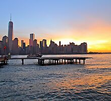 Lower Manhattan From Lower Jersey City ! by pmarella