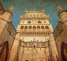 Claustro da Torre de Belém. Cloister. by terezadelpilar~ art & architecture