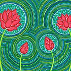 Lotus Family of 4 by Elspeth McLean