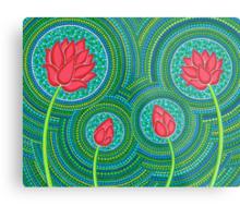 Lotus Family of 4 Metal Print