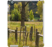 Fence Posts iPad Case/Skin