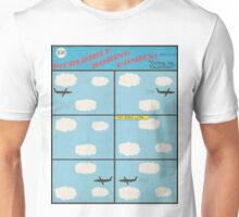 """Incredibly Boring Comics!! #6 - """"Going on Vacation"""" Unisex T-Shirt"""