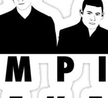 Vampire Weekend t-shirt Sticker