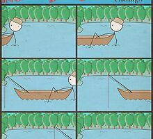 "Incredibly Boring Comics!! #8 - ""Fishing"" by FinlayMcNevin"