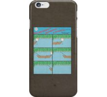 "Incredibly Boring Comics!! #8 - ""Fishing"" iPhone Case/Skin"