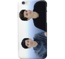 Dan & Phil | Blue gradient  iPhone Case/Skin