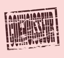 Connoisseur claret rubber stamp effect by stuwdamdorp