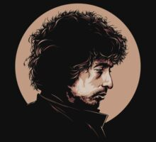 Bob Dylan Head by znojc