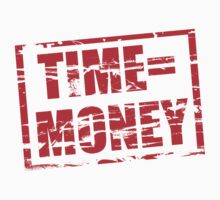 Time is money red rubber stamp effect by stuwdamdorp