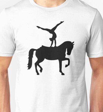 Vaulting horse Unisex T-Shirt