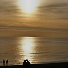 Three Couples On Brighton Beach by Jazzdenski