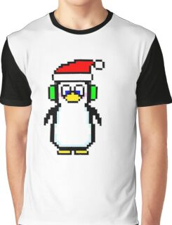 Pixel Penguin 2.0 Graphic T-Shirt