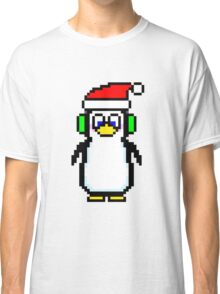 Pixel Penguin 2.0 Classic T-Shirt