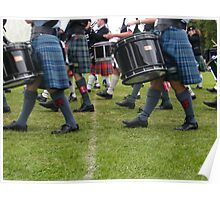Marching kilts Poster