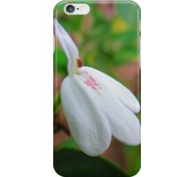 Swans Flower iPhone Case/Skin