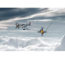 P51 Mustang - Old Crow Photographic Print