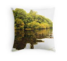 Hawes End Reflections Throw Pillow