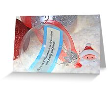 The Joy of Christmas Greeting Card