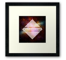 Doctor Who - We're all Stories in the End Framed Print