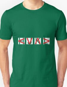 HJKL (Red Arrows + Text Transparency) T-Shirt