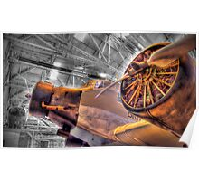 Junkers Ju52/3M - Cosford - HDR Poster