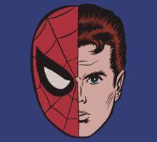 Spiderman vs Peter Parker by bobmorlock