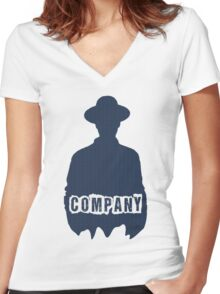 Company // Purpose Pack // Women's Fitted V-Neck T-Shirt