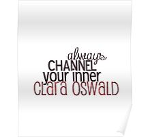 channel clara Poster