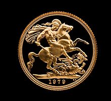 22 Carat Gold Sovereign 1979 by Kawka