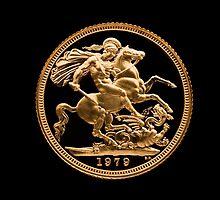 22 Carat Gold Sovereign 1979 by Kawka