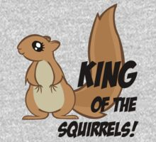 King of the Squirrels! Kids Clothes