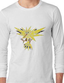 Tribal Zapdos Pokemon Long Sleeve T-Shirt