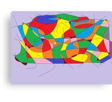 Kurven 11 Canvas Print