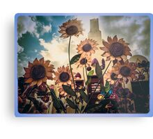 Pushy Daisys Metal Print