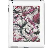 Red World Abstract Design iPad Case/Skin