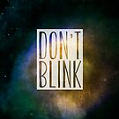 Doctor Who - Don't Blink by Elyssa Long