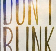 Doctor Who - Don't Blink Sticker