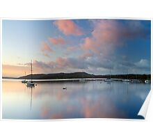 Windermere Pinks Poster