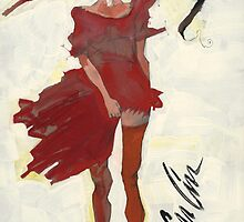 Red Dress by Cordell Cordaro