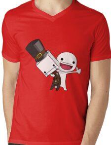 BBT Mens V-Neck T-Shirt
