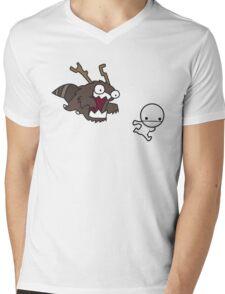 Run! Mens V-Neck T-Shirt