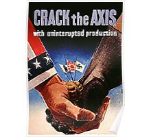 Crack the Axis Poster