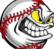 Angry baseball by Megapics123